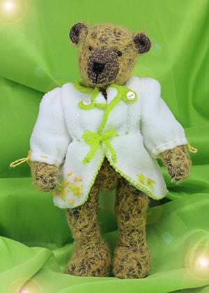 Schnittmuster für das Teddymantel